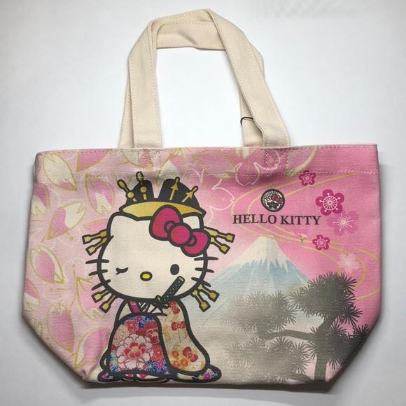 f29f665076a Hello Kitty Bags   Canvas Tote   Poshmark